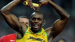 Bolt tạo hình trái tim ăn mừng chiến thắng