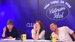 """Clip: Những pha """"biểu cảm"""" hài hước của giám khảo Vietnam Idol"""