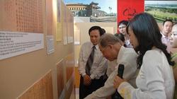 Trưng bày Châu bản triều Nguyễn: Khẳng định chủ quyền biển đảo