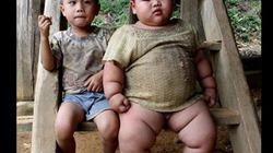 Bé trai lớn như Thánh Gióng, 2 tuổi nặng 30 kg