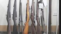 Thu hồi gần 330.000 khẩu súng các loại