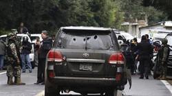 Cảnh sát Mexico bắn nhầm xe... đại sứ quán Mỹ