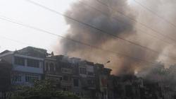 Hà Nội: Cháy hàng chục ngôi nhà, dân hoảng loạn