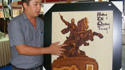 Tôn vinh gạo Việt bằng tranh nghệ thuật