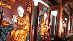 Chùa Trăm Gian: Khi tranh tượng quý được phủ sơn Nippon