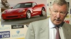 Ferguson cấm cầu thủ trẻ đi siêu xe Chevrolet
