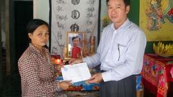 Quảng Ngãi giúp đỡ gia đình ngư dân bị nạn