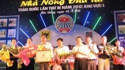 Đội Yên Bái đoạt giải Nhất