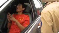 Cầu thủ Huy Hoàng gây tai nạn giao thông
