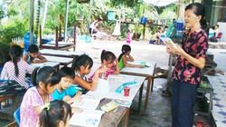 Lớp học bên cái ao bèo cạnh... Phú Mỹ Hưng