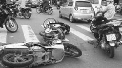 TP.HCM: Rượt đuổi trên phố bắt cướp hung hãn