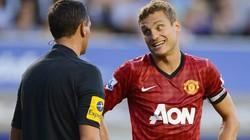 Vidic thừa nhận M.U may mắn thoát penalty