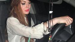 Lindsay Lohan bị cảnh sát bắt giữ