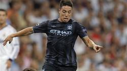 Chấn thương, Nasri lỡ đại chiến với Arsenal