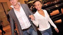 Đoan Trang hạnh phúc sánh đôi cùng chồng