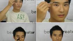 Tiết lộ các bước makeup của mỹ nam Hàn