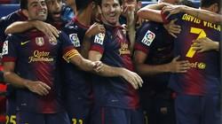 Barca nhọc nhằn đánh bại Sevilla