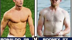 """Ghét tập thể hình, Rooney ngày càng """"sồ sề"""""""
