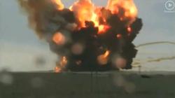 Clip: Vừa rời bệ phóng, tên lửa Nga cháy rực như đuốc khổng lồ