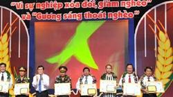 """Agribank được tôn vinh, tặng thưởng  Kỷ niệm chương """"Vì sự nghiệp xóa đói, giảm nghèo"""""""
