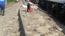 Tàu hỏa trật bánh, 70 người bị thương