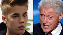 Sau chửi bậy, Justin Bieber bẽ bàng xin lỗi Bill Clinton