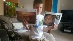 """Bức thư của bé 7 tuổi khiến NASA """"không thể tin nổi"""""""