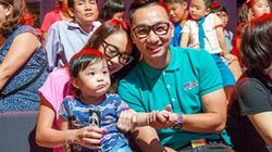 Con gái Thanh Lam nũng nịu ngả vai Thành Trung
