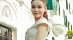 Yến Trang tinh khôi, bồng bềnh váy trắng