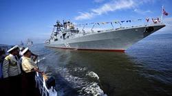 ẢNH ĐỘC: Choáng ngợp trước dàn chiến hạm siêu khủng của Nga