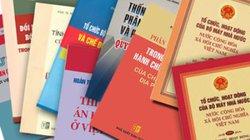 Gần 4.000 văn bản quy phạm pháp luật có dấu hiệu phạm luật