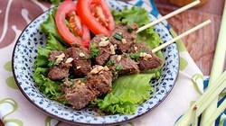 Thịt bò nướng sả thơm nồng quyến rũ