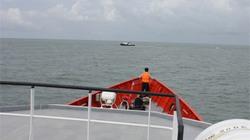 Con tàu bị nạn giữa biển Cần Giờ có nguồn gốc chưa rõ ràng