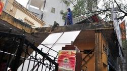 Bão số 5 làm đổ và tốc mái hàng trăm ngôi nhà