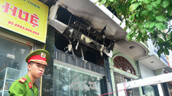 Vụ cháy tiệm vàng 5 người thiệt mạng: Do chập điện bảng đèn Led