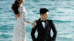 """""""Lọt"""" ảnh cưới lung linh của tài tử nổi tiếng xứ Hàn"""