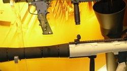 """Đặc nhiệm Peru dùng """"hàng nhái"""" súng chống tăng huyền thoại RPG-7"""