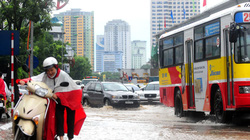 Hà Nội: Cơ bản các vị trí úng ngập đã rút nước