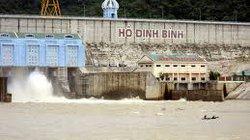 Bình Định: Xả nước hồ Định Bình chuẩn bị đón lũ chính vụ