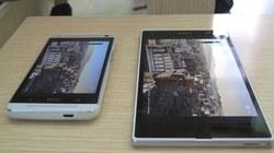 Xperia Z Ultra đọ màn hình với HTC One