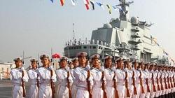 Trung Quốc tập quân sự trên tàu sân bay tự chế