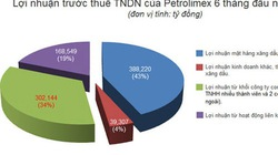 """Petrolimex thu lãi """"khủng"""" từ kinh doanh xăng dầu"""