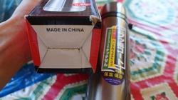 Tận thấy hàng chục bình nước Trung Quốc chứa chất lạ