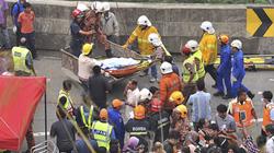 Xe buýt bổ nhào vực sâu, ít nhất 37 người chết