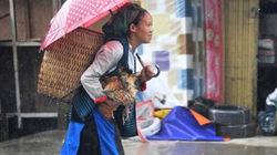 Phiên chợ Mèo Vạc trong mưa