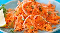Salad cà rốt kiểu Pháp  lạ miệng mà bổ dưỡng