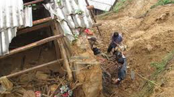 Các tỉnh Bắc Bộ đề phòng lũ quét, sạt lở đất