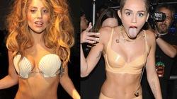 """""""Cơn bão"""" bikini, xuyên thấu mát mẻ khuấy đảo lễ trao giải MTV"""