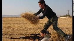 Dân Syria đã xuống hầm trú ẩn, tích trữ lương thực