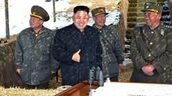 Ông Kim Jong un thị sát đảo tiền tuyến